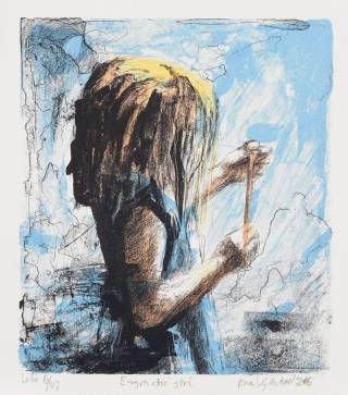 Kunst: Enigmatic girl av Roar Kjærnstad