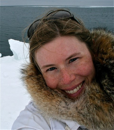 VINNERE: Shari Fox Gearheard har koordinert forskningsarbeidet til «The Meaning of Ice» fra Alaska, Canada og Grønland.