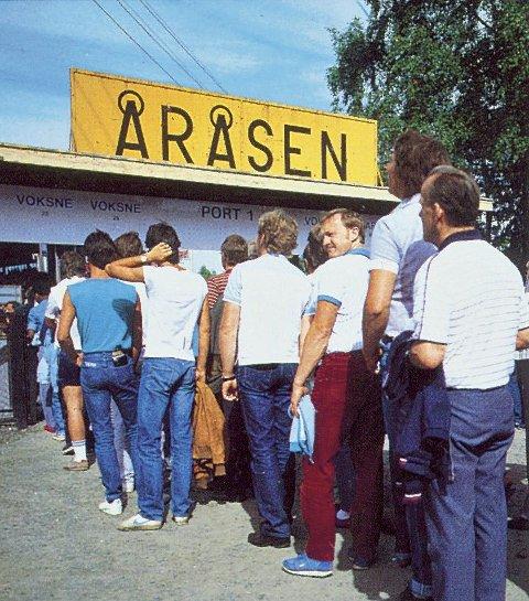 KØ: Folk strømmet til Åråsen igjen på 1970-tallet.