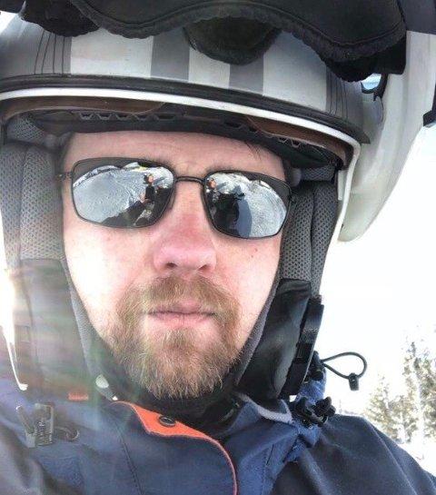 Trond Vidar Solhaug i Øystre Slidre er leder for Sivilforsvaret i Valdres.
