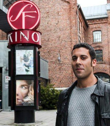 GIR SEG PÅ TOPP: Daniel Werlemo har vært kinosjef siden 2012.