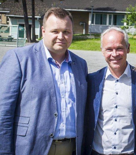 SVARBREV: Statsråd Jan Tore Sanner følger opp møte og brev fra ordfører Thomas Sjøvold.