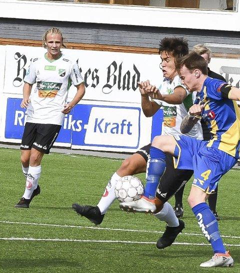 Ha det: Sivert Øverby og Daniel Østebø.