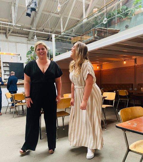 Splittet: Reality-kokkene Silje Sandberg og Julie Eriksen.