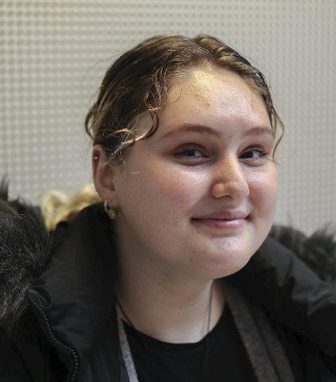 Merima Muratovic (16) fra Trøgstad: – Ikke så veldig.