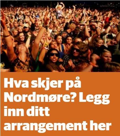 Kalender: Vi gir deg oversikt over arrangement på Nordmøre.