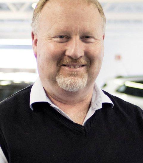 Stolt: Daglig leder i Motor Forum Fredrikstad, Tore Engjom har grunn til å være stolt av en formidabel omsetningsøkning i 2017.