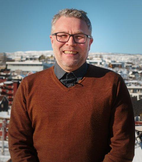 Bjørn Erik Rønhaug er ansatt som prosjektleder i Norinnova Narvik.