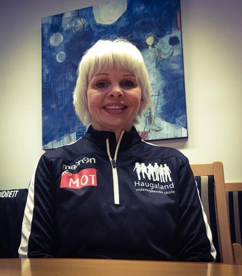 NYBROTTSARBEID: - Jeg tror jo at det er behov og ønske for det, sier Haugaland-rektor Solveig Rossebø Kalstad om det nye tilbudet.