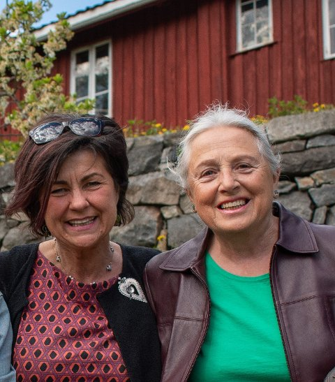 Mot flytting: Ragnhild G. Vikesland og Randi E. Bergan, Rødt Kongsberg
