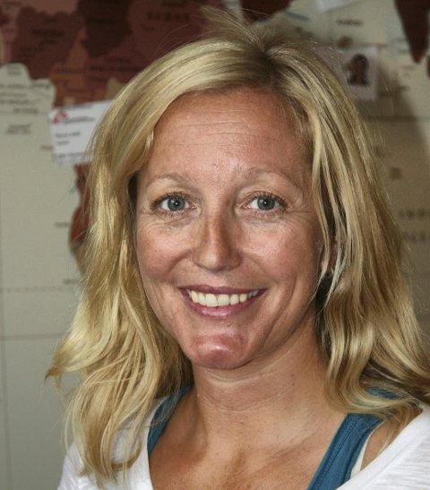 NÅ: Slik ser Lindis Hurum ut i dag. Hun er nå nødhjelpskoordinator for Leger uten grenser.