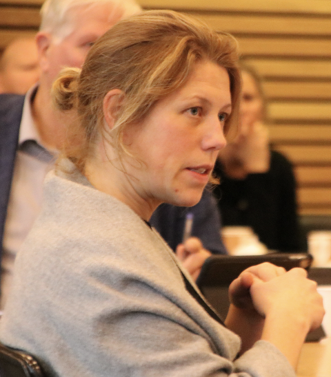BLIR IKKE MED: Ordfører Margrethe Handeland (Sp) opplyste at det blir for dyrt for Hægebostad å bli med i Nav-samarbeidet i Lister.