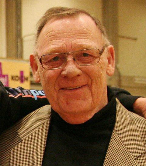 Jan Gerhard Jensen er død. Han var en nestor i brytemiljøet. Bildet er tatt i 2011.