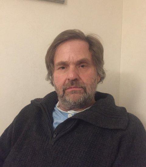 STERKT REDUSERT: Åtte kilo lettere på tre uker. - Ingen slankekur jeg anbefaler, sier Carl Høeg i Ås kommune til Ås Avis.