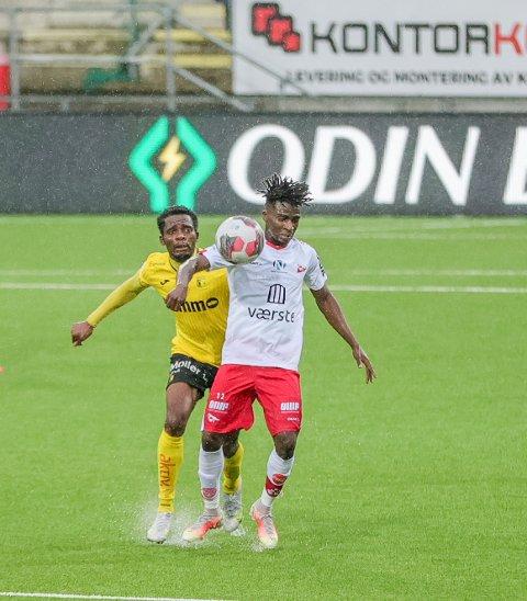 Tafoeek Ismaheel har vært en av OBOS-ligaens beste spillere den siste tiden.