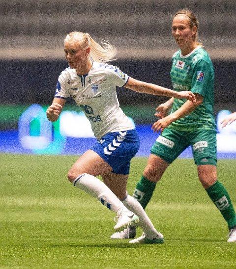 BEST AV ALLE: Karina Sævik.
