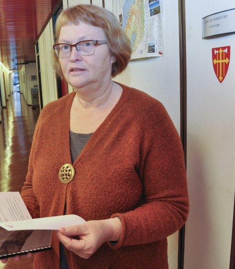 Kirkeverge: Anne Lise Haakestad i Vestvågøy.