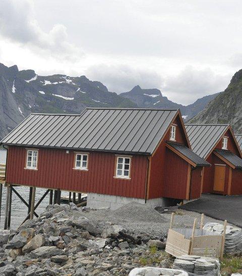Nytt anlegg: Reinefjorden Sjøhus åpnet i sommer.