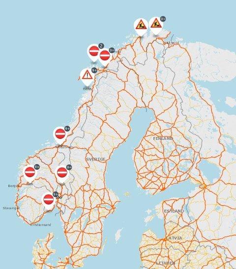 Oppdatert: Statens Vegvesen har lagt inn enda mer informasjon i sin kartløsning.