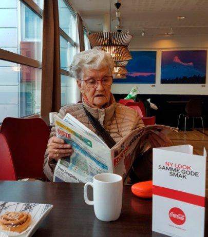 Astrid Stenhaug er savnet fra Sagbakken i Mo i Rana.
