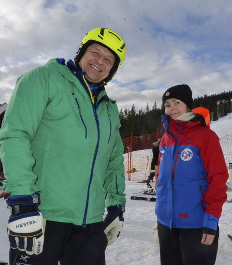 Thomas Wirthgen og Pia Olsen, Rana slalåmklubb.