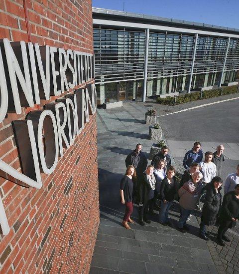 Hverdag: Det ble verken Polarsirkelen, Det blågrønne universitetet eller Nord-Europas lengste universitet. Nå begynner hverdagen for Nord universitet. Foto: Tom Melby