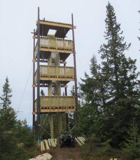 Det nye tårnet på Lushaugen