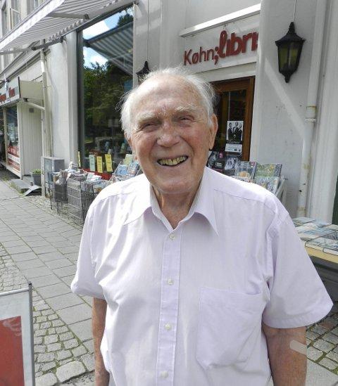 MINNEORD: Sverre Stang minner nylig avdøde Frits Køhn i denne nekrologen.arkivfoto