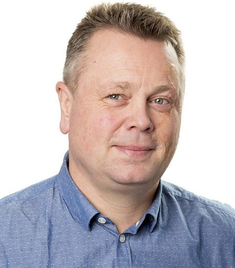 Presenterer tall: Avdelingsdirektør i NAV Rogaland Egil Tengs.  FOTO: MARIUS VERVIK