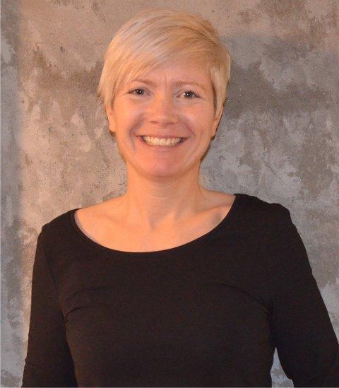 GLAD: Leder Rita Berget Lindblad i Aurskog-Høland frivilligsentral var kjempeglad for at søknaden på 775.000 kroner ble innvilget av Gjensidigestiftelsen.