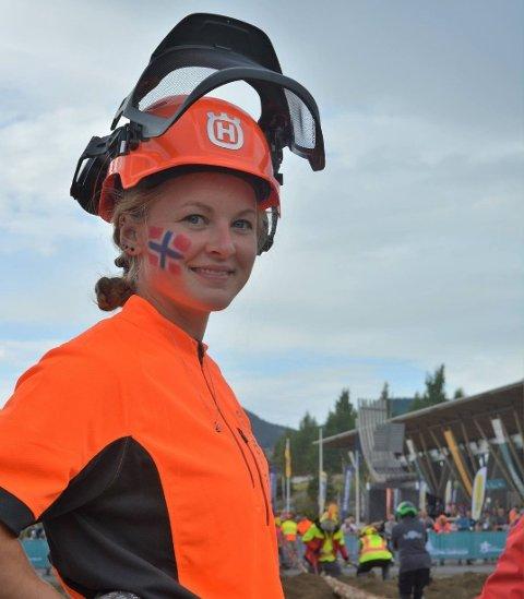 EN VINNER: Pia har allerede vunnet de fleste motorsag-mesterskap. Hun vil fortsatt vinne mer.