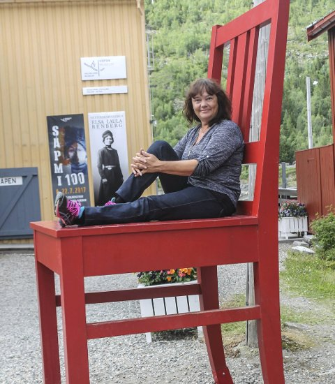 STORE AMBISJONER: Hanne Dyveke Søttar ønsker seg fast sete på Stortinget. Foto: Benedicte Wærstad