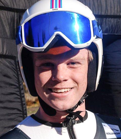 Anders Ladehaug er klar for junior-VM etter å ha vunnet dagens uttaksrenn på Rena.