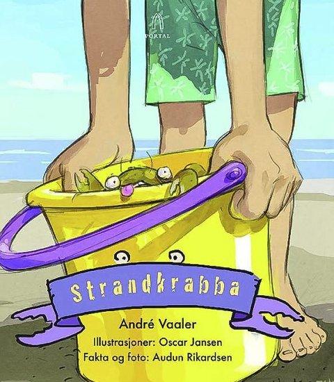 Strandkrabba: André Vaaler lanserer boken «Strandkrabba» 4. juni. Den er illustrert av Oscar Jansen.
