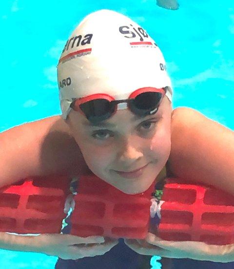 Rina Øvergaard er et stort talent. Jenta fra Sjøstjerna har aldri vært tettere på de beste i landet enn nå.