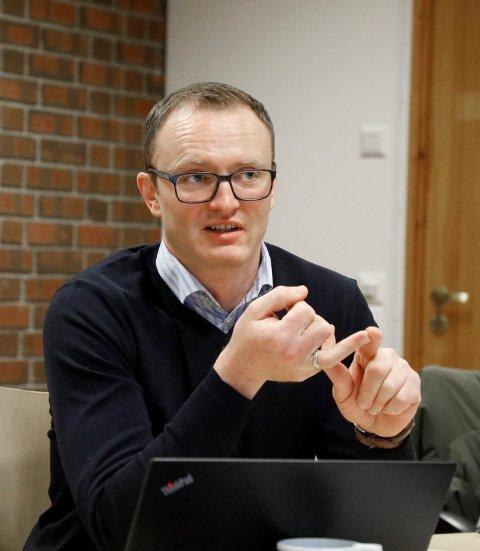 HAR ANALYSERT: Torbjørn Heggheim rådgiver miljø og renovasjon i Karmøy kommune