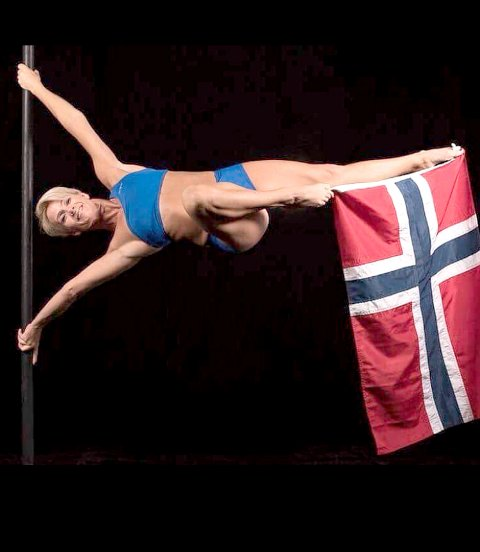 Herdis Jenssen tok bronse under VM i poledance i Kina.