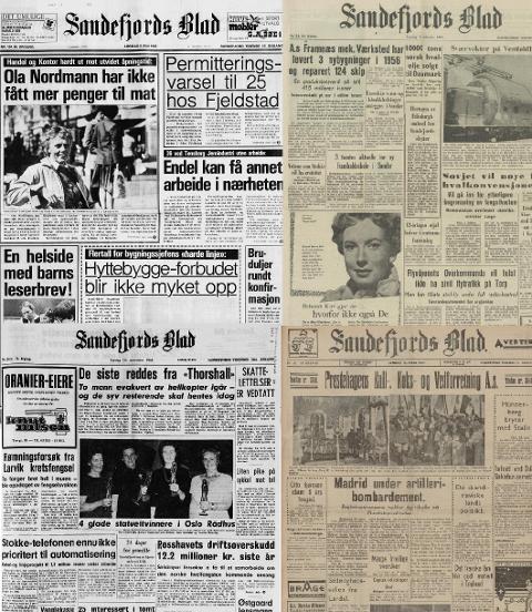 Nå kan du lese Amedias aviser på Nasjonalbibliotekets nettsider.