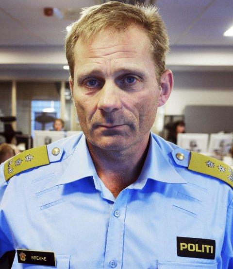Johan Brekke, politimester i Søndre Buskerud politidistrikt.