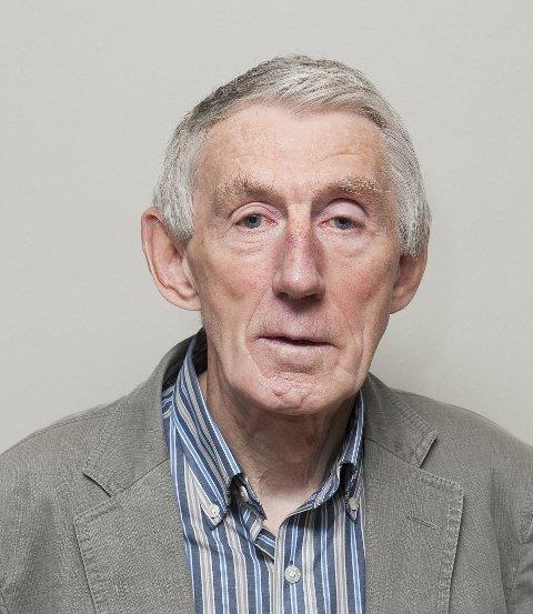 Nils Sagstuen, leder i Halden Pensjonistparti.