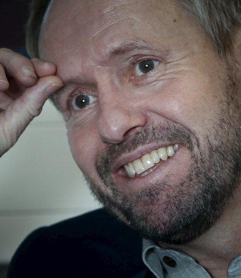 Smil: Pål Bjerketvedt sparer ikke på smilene og i øynene kan man se entusiasmen som preger 56-åringen.