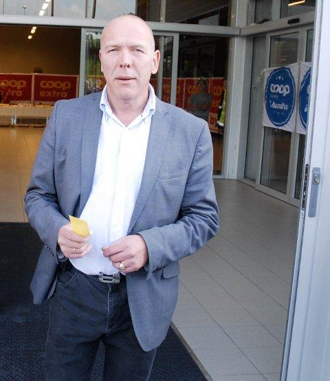 Knut Mjølhus åpnet Ålgårds første søndagsåpne butikk i 2013. – Jeg er ikke veldig tilhenger av å fritt åpne butikker på søndager, sier han (arkivfoto: Eugen Hammer).