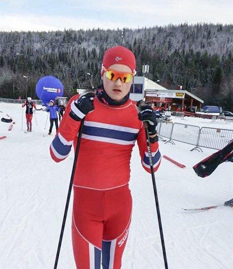 GOD START:  Ole Jakob Forsmo, Halsøy IL Ski slo til med en 42. plass i årets første norgescuprenn.  FOTO: Elin Abelsen