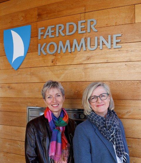 Irmelin Skjold og Kristin Wolles Steinsholt