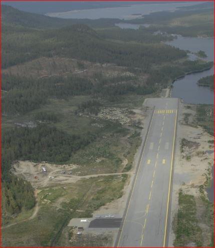 Er seld: Flyplassen på Dagali er seld for 9,5 millionar kroner.