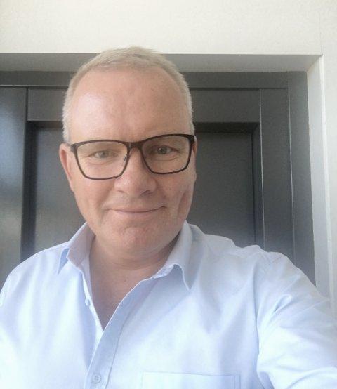UTVIDER:Daglig leder i Pallelogistikk, Tor Erik Sollund, sier de også skal ansette en person i forbindelse med åpningen av det nye lageret på Gamle Maxbo.