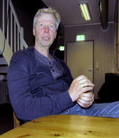 ÆRESMEDLEM: Vidar Bugge-Hansen ble nettopp utnevnt til Nykirkes første æresmedlem siden 1999 – nr 14 i rekken av kattnæglerske ildsjeler. Det nye klubbhuset er det siste beviset på dugnadsfylt klubbånd.