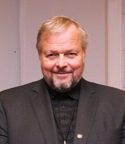 INSTITUTTLEDER: Torbjørn Skogsrød ved Institutt for vareproduksjon og byggteknikk.