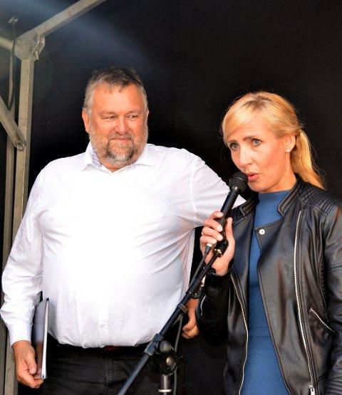 Ny: Inge Dahl er ny kulturskulerektor. Her med kultursjef Renate Remme Øvreseth