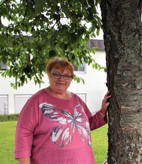 GLAD FOR ENGASJEMENT: Solfrid Lekva, lokallagsleder i foreningen Mental Helse.